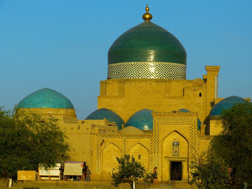 Mosquee a khiva en Ouzbekistan
