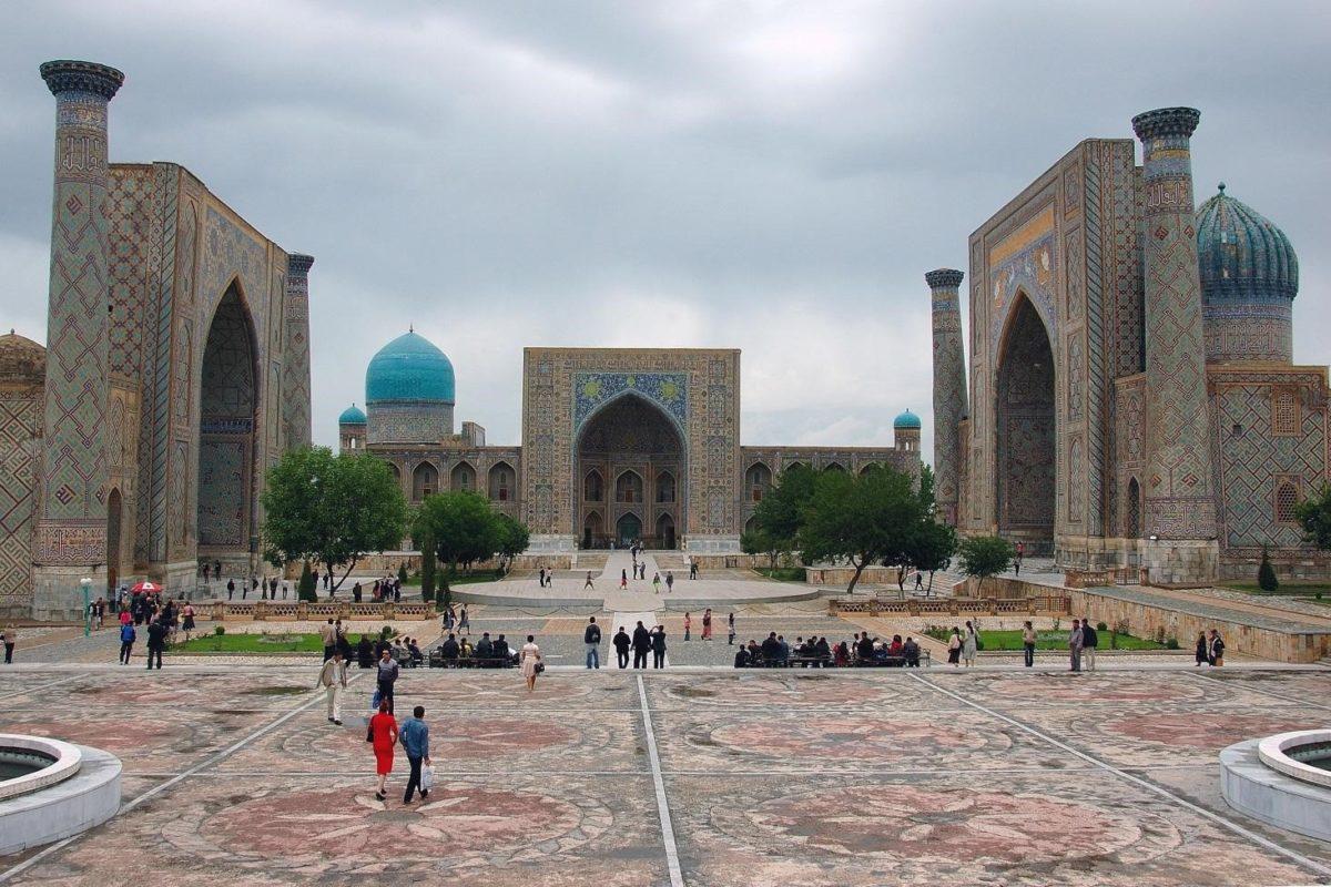 Place Registan en Ouzbékistan